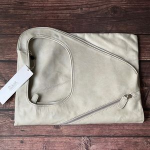 SOLAR   Oversized vegan leather shoulder bag